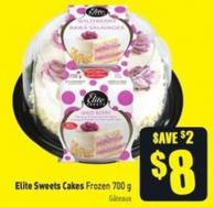 Elite Sweets Cakes Frozen 700 g