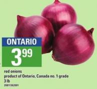Red Onions - 3 Lb