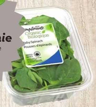Compliments Organic Salad Greens
