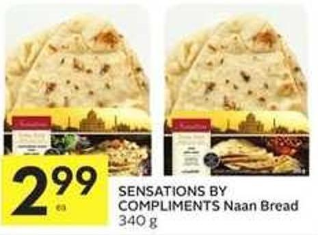 Sensations By Compliments Naan Bread
