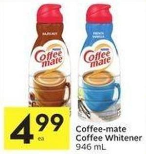 Coffee-mate Coffee Whitener 946 mL