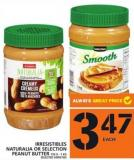 Irresistibles Naturalia Or Selection Peanut Butter