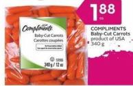 Compliments Baby-cut Carrots