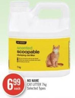 No Name Cat Litter