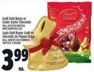 Lindt Gold Bunny Or Lindor Easter Chocolate 100 g