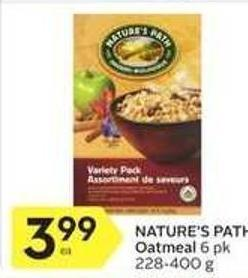 Nature's Path Oatmeal