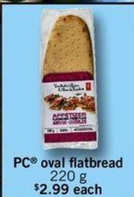 PC Oval Flatbread - 220g