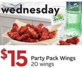 Party Pack Wings