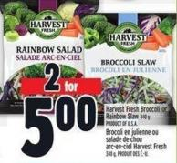 Harvest Fresh Broccoli Or Rainbow Slaw 340 g