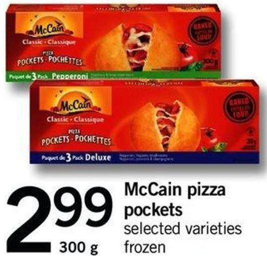 Mccain Pizza Pockets - 300 G