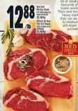 Red Grill Rib Eye Steak