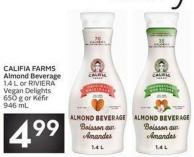 Califia Farms Almond Beverage