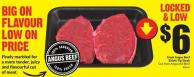 Fresh Angus Beef Sirloin Tip Steak Cut From Angus Aa Beef