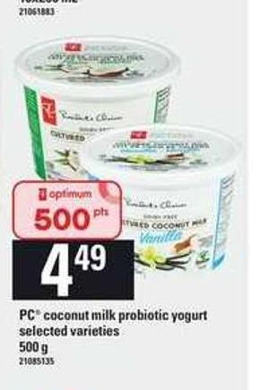 PC Coconut Milk Probiotic Yogurt - 500 g