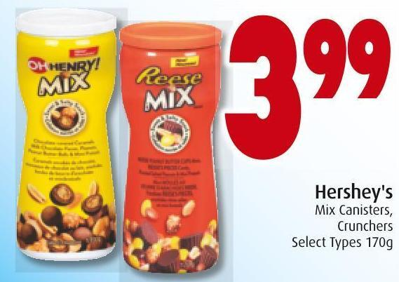 Hershey's Mix Canisters - Crunchers