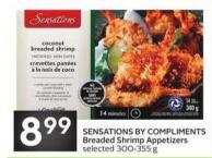 Sensations By Compliments Breaded Shrimp