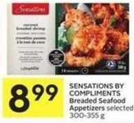 Sensations By Compliments Breaded Seafood Appetizers