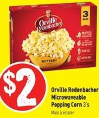 Orville Redenbacher Microwaveable Popping Corn 3's