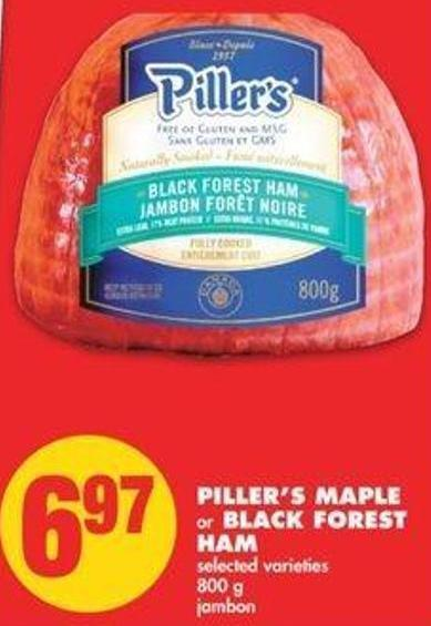 Piller's Maple Or Black Forest Ham - 800 G