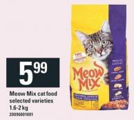 Meow Mix Cat Food 1.6-2 Kg