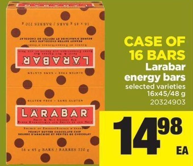 Larabar Energy Bars - 16x45/48 G - Case Of 16 Bars