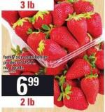 Family Size Strawberries - 2 Lb