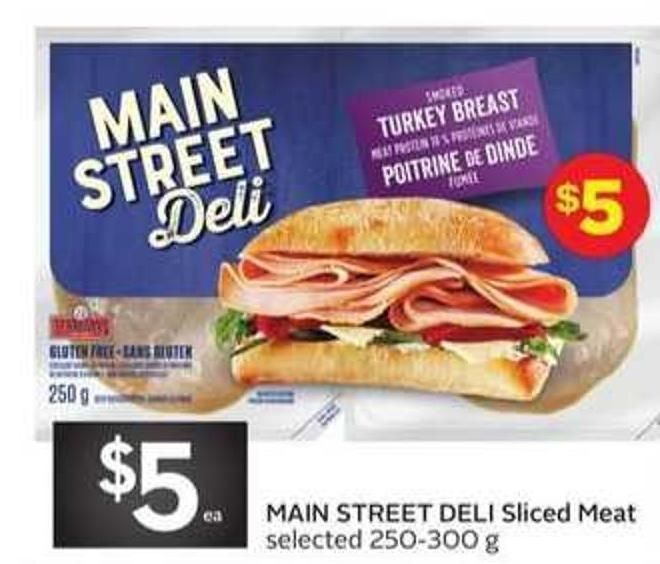 Main Street Deli Sliced Meat