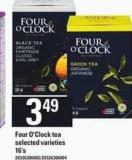 Four O'clock Tea - 16's
