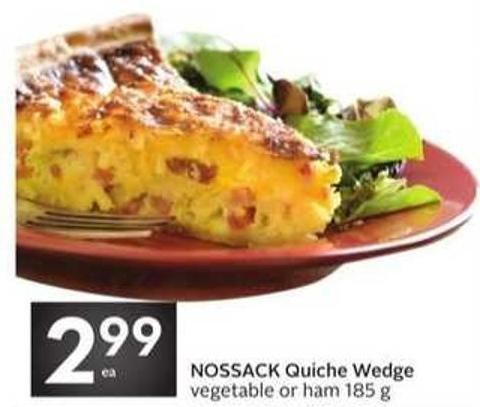Nossack Quiche Wedge