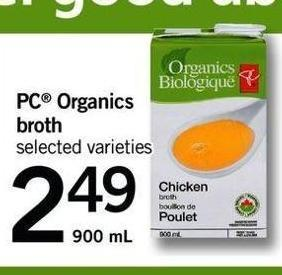 PC Organics Broth - 900 mL