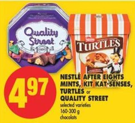 Nestlé After Eights Mints - Kit Kat Senses - Turtles or Quality Street - 160-300 g