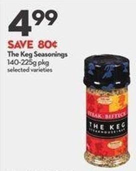 The Keg Seasonings