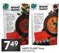 Happy Planet Soup - 500/650 mL