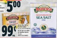 Aurora Sea Salt Or Bouillon Cubes 1 Kg - 66 g