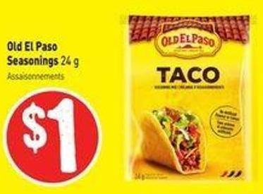 Old El Paso Seasonings 24 g