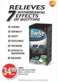 Thrive Nicotine Replacement GUM or Lozenges 105's