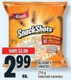Bloom's Snacks 216 g