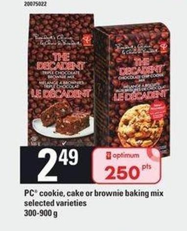 PC Cookie - Cake Or Brownie Baking Mix - 300-900 g