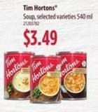 Tim Hortons Soup - 540 Ml