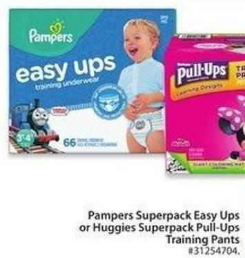 Pampers Superpack Easy Ups Training Pads