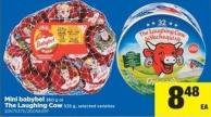 Mini Babybel 360 G Or The Laughing Cow 535 G