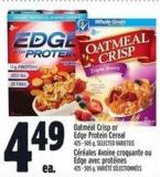 Oatmeal Crisp Or Edge Protein Cereal