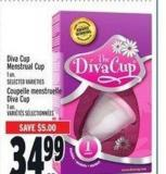 Diva Cup Menstrual Cup | Coupelle Menstruelle Diva Cup