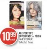 Age Perfect - Excellence or Féria Hair Colour