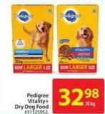 Pedigree Vitality+ Dry Dog Food