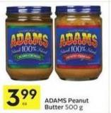 Adams Peanut Butter