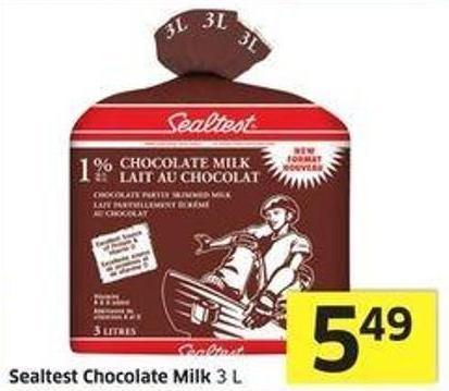 Sealtest Chocolate Milk 3 L