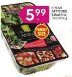 Fresh Attitude Salad Kits 342-454 g