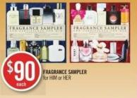 Fragrance Sampler For Him or Her