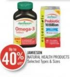 Jamieson  Natural Health Products